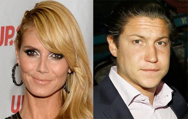Heidi Klum i Vito Schnabel /Astrid Stawiarz, Jamie McCarthy /Getty Images