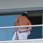 Heidi Klum przyłapana z ukochanym na balkonie!