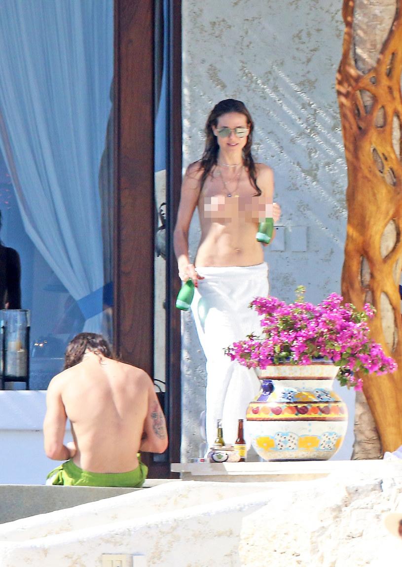 Heidi Klum topless /East News