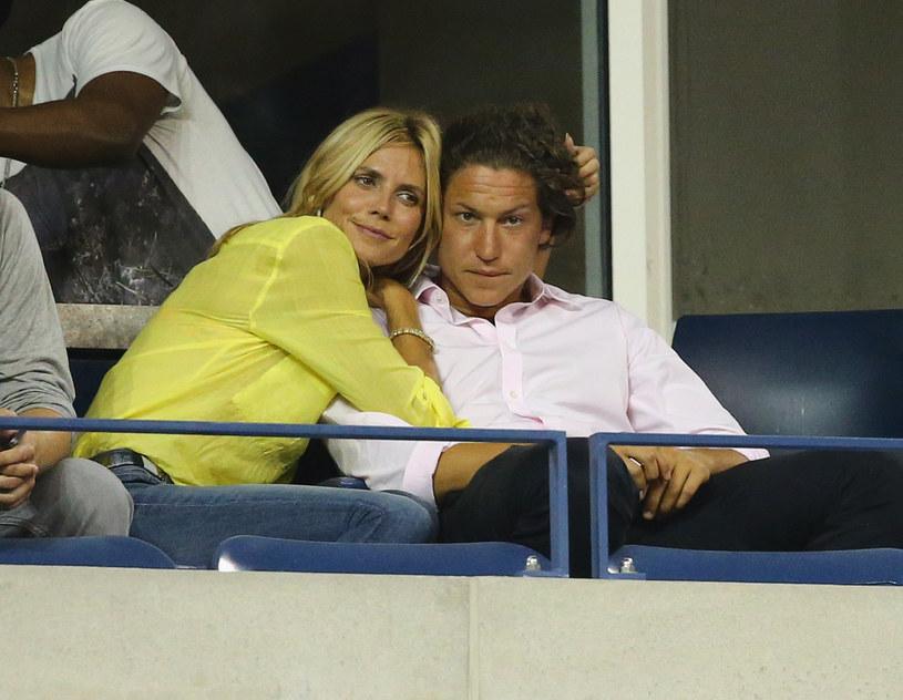 Heidi Klum z poprzednim partnerem, Vito Schnabelem /East News