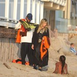 Heidi Klum z rodziną na plaży. Mieli niezły ubaw!