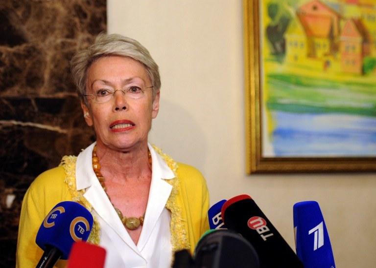 Heidi Tagliavini /SERGEI GAPON /AFP