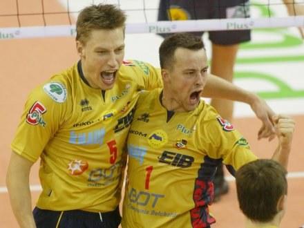 Heikkinen i Dobrowolski celebrują zwycięstwo /Darek Hermiesz/SPORT-FOTO