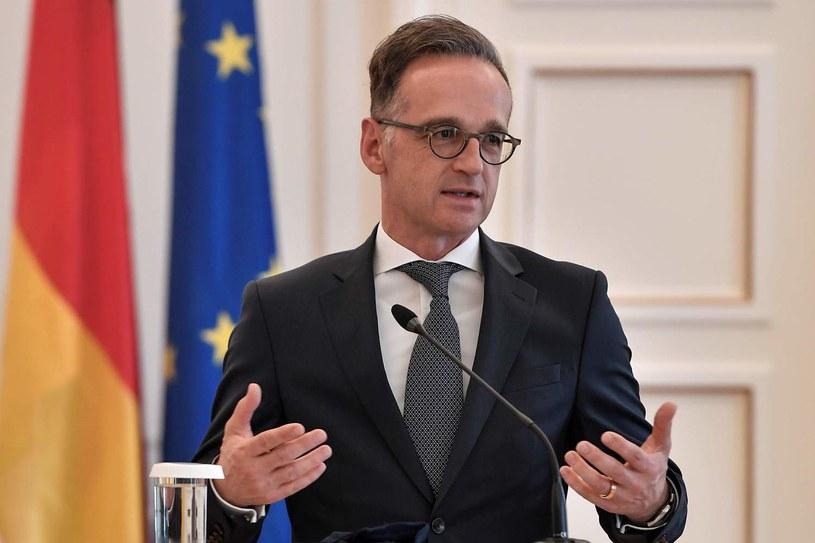 Heiko Maas, minister spraw zagranicznych Niemiec /AFP