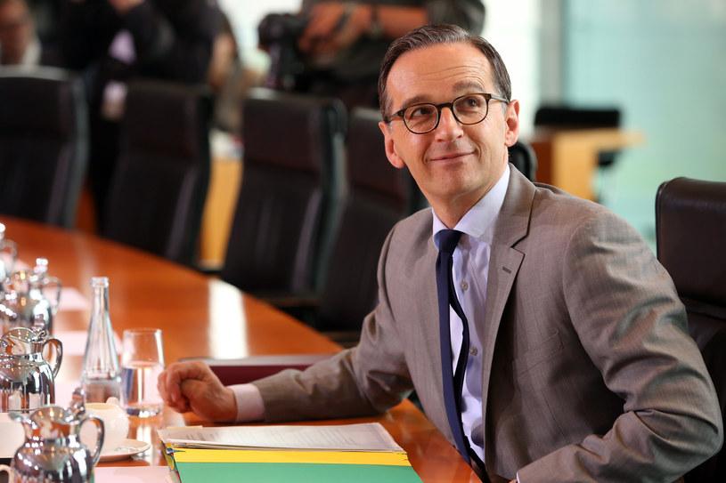 Heiko Maas, niemiecki minster sprawiedliwości /Adam BERRY / AFP /AFP