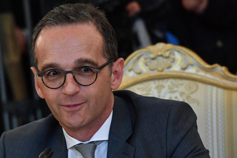 Heiko Maas: Trudno będzie chronić firmy przed sankcjami USA wobec Iranu /Yuri Kadobnov /AFP