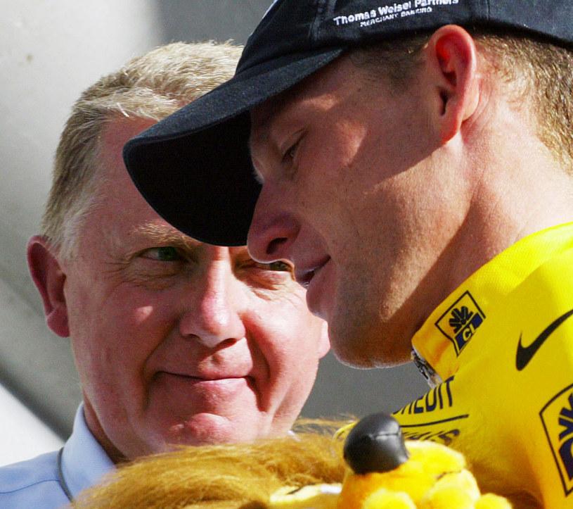 Hein Verbruggen i Lance Armstrong /AFP