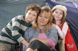 """""""Hela w opałach"""" - to właśnie seriale przyniosły aktorce popularność. /fot  /AKPA"""