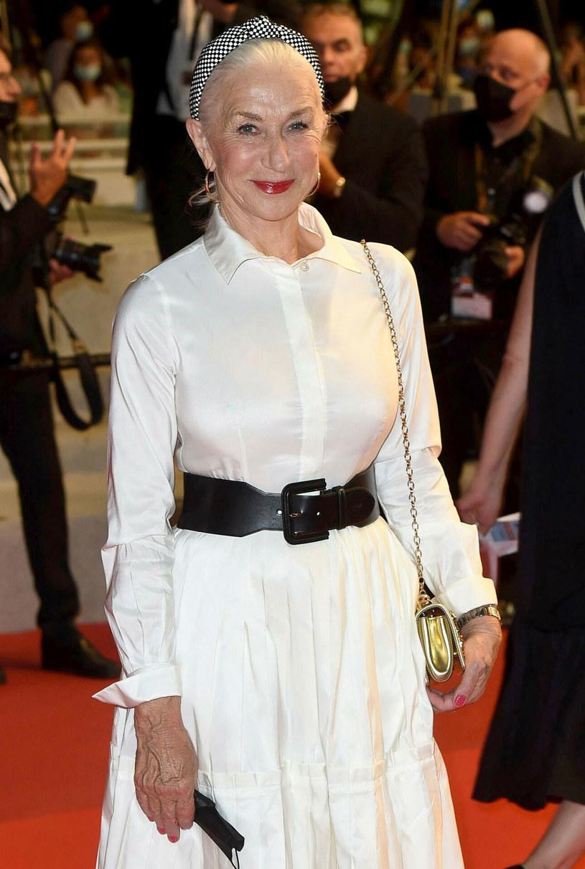 "Helen Mirren na pokazie filmu ""The Velvet Underground"" /Catarina+Perusseau/Shutterstock /East News"