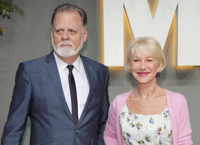 Helen Mirren z mężem /Getty Images