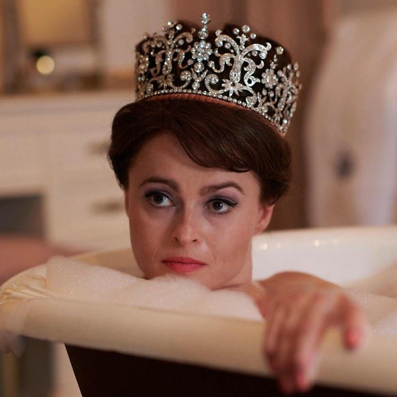 "Helena Bonham Carter w ""The Crown"" /Netflix /materiały prasowe"
