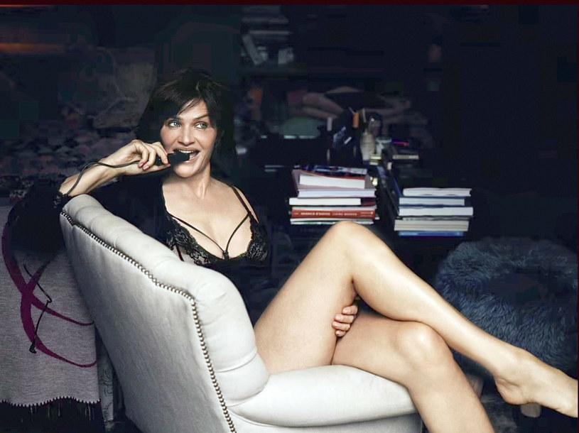Helena Christensen w najnowszej kampanii wyglądała jak milion dolarów! /Coco De Mer via The Grosby Group /East News