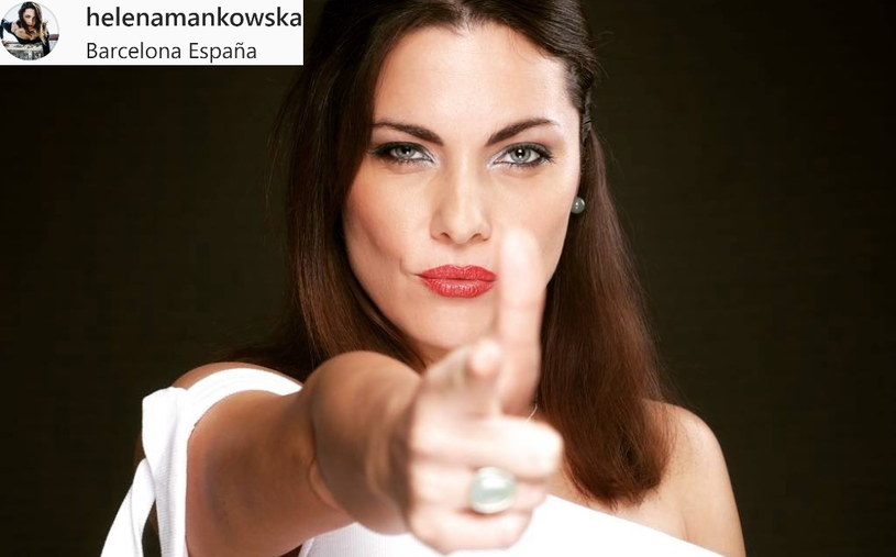 Helena Mańkowska - fragment zdjęcia opublikowanego w serwisie Instagram.com/na profilu: @helenamankowska /materiały źródłowe