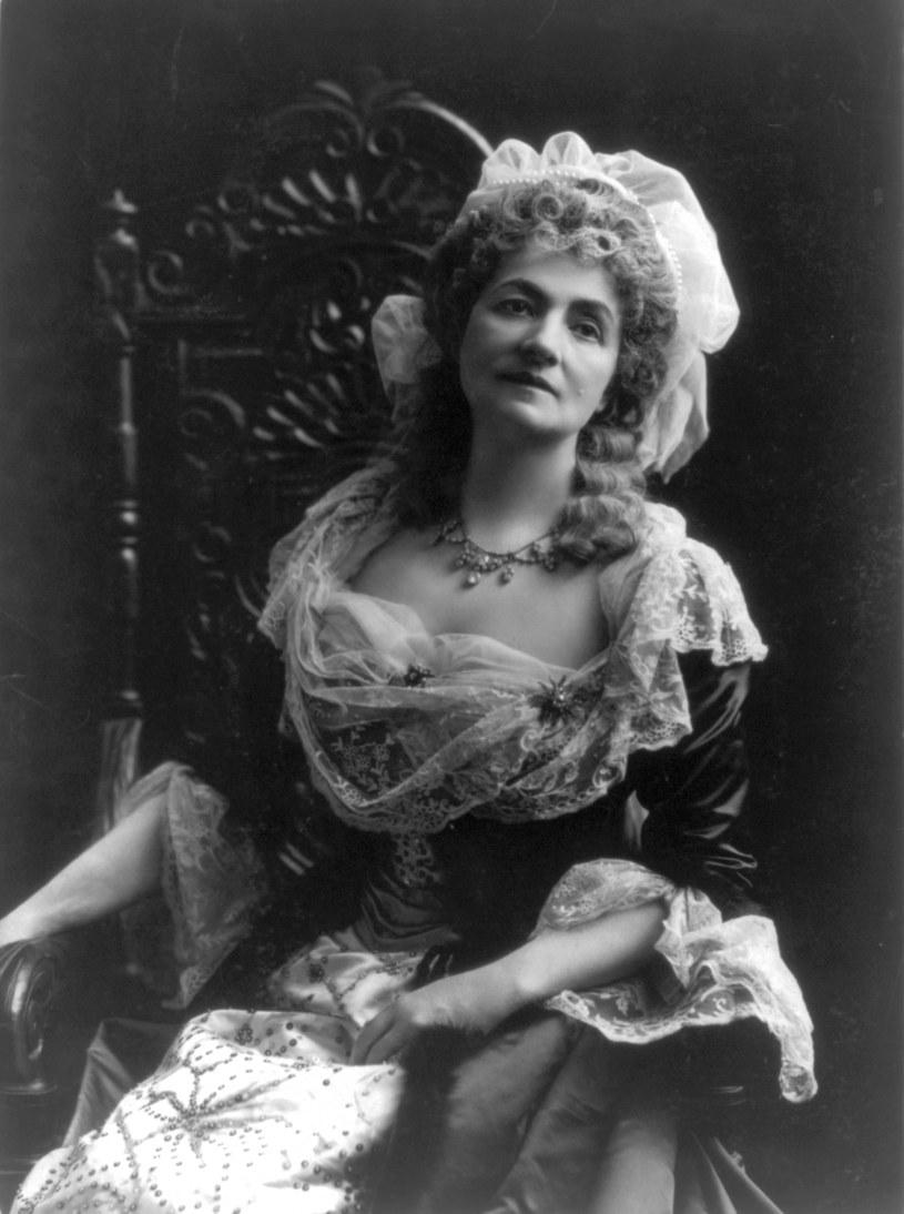 Helena Modrzejewska jako Maria Antonina. Zdjęcie pochodzi z zasobów Biblioteki Kongresu Stanów Zjednoczonych, /foto. Wikipedia /materiały prasowe