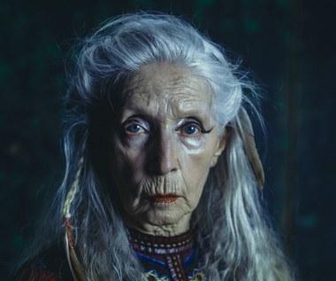 """Helena Norowicz w filmie """"Człowiek z magicznym pudełkiem"""""""