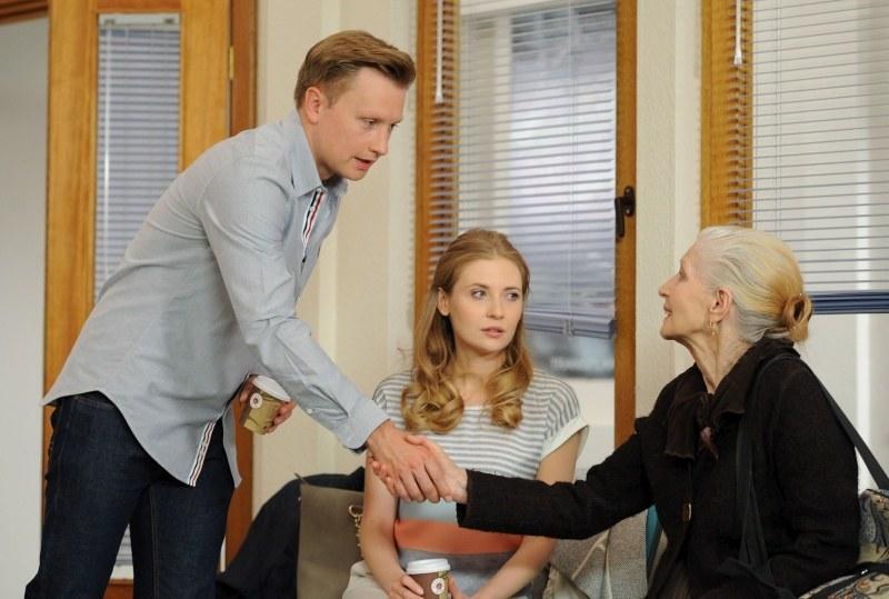 """Helena Norowicz w serialu """"Na Wspólnej"""" /Agencja W. Impact"""
