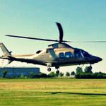 Helikopter - królewski prezent... dla wnuka