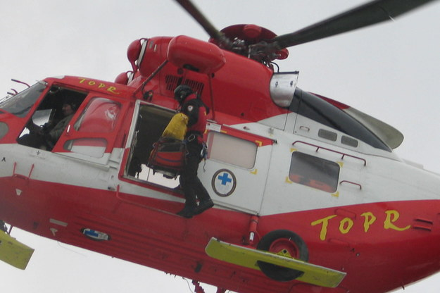 Helikopter TOPR-u /Maciej Pałahicki /RMF24