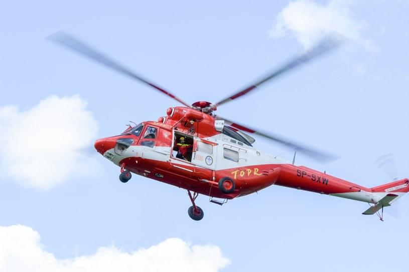 Helikopter TOPR; zdj. ilustracyjne /Piotr Korczak /Reporter