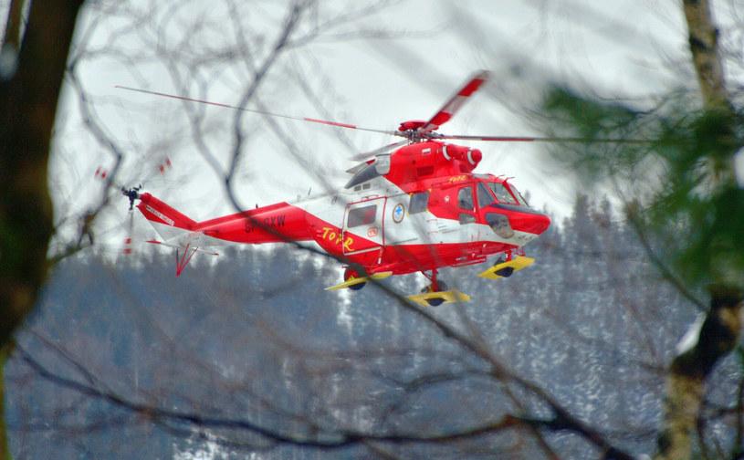 Helikopter TOPR; zdj. ilustracyjne /Paweł Murzyn  /East News