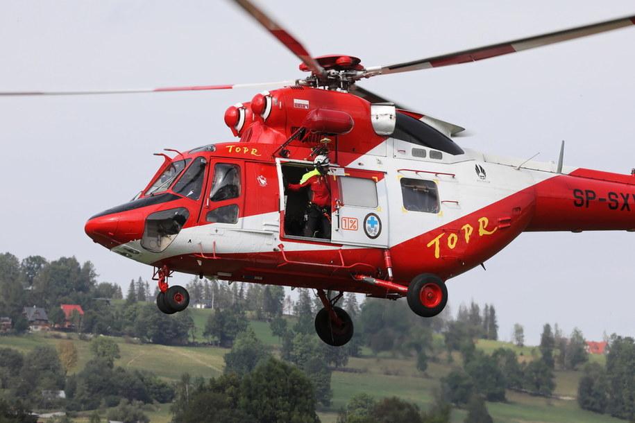 Helikopter TOPR / Grzegorz Momot    /PAP