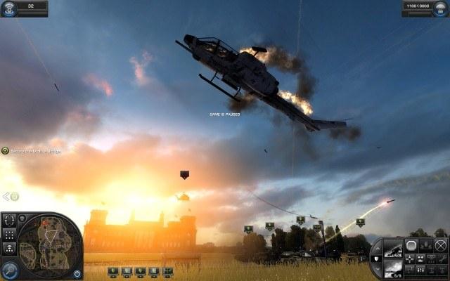 Helikopter w ogniu? /gram.pl