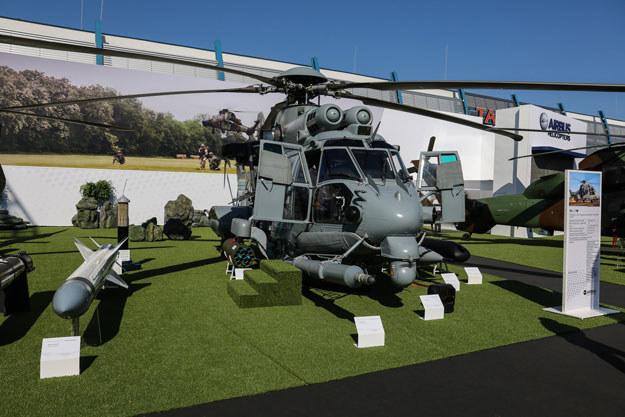 Helikopter wielozadaniowy H225M Caracal produkcji francuskiego Airbusa /Jan Garczyński /East News