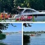 Helikopter wpadł do jeziora Tałty. Szybka akcja służb