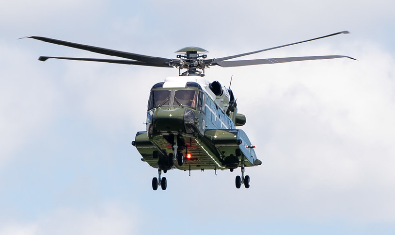 Helikopter, zdjęcie ilustracyjne /SAUL LOEB / AFP /AFP