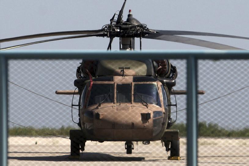 Helikopter żołnierzy-puczystów na lotnisku w Grecji /AFP