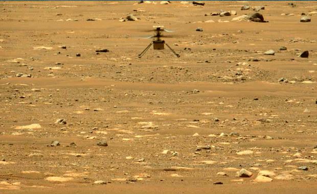 Helikopterek Ingenuity poleciał na Marsie po raz drugi