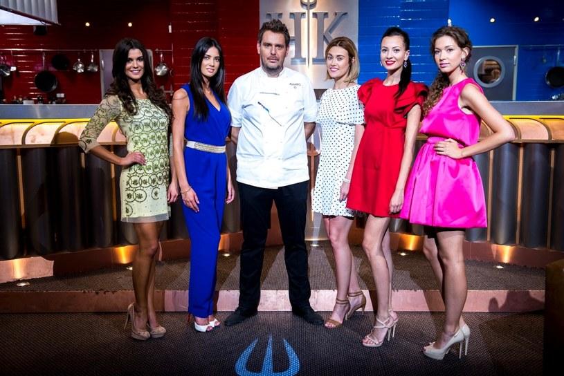 Hell's Kitchen: Wojciech Modest Amaro z pięcioma Miss Polski /Styl.pl/materiały prasowe