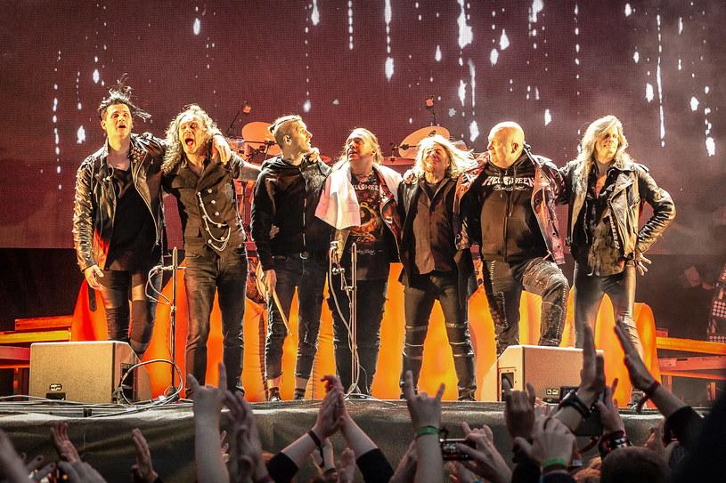 Helloween w pełnym składzie /Avalon/PYMCA/Gonzales Photo/Terje Dokken/Universal Images Group /Getty Images