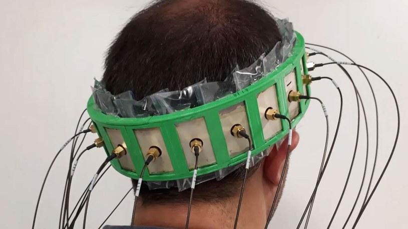 Hełm do wykrywania udarów mózgu /materiały prasowe
