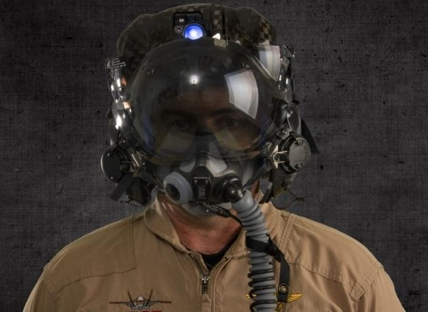 Hełm pilota F-35.  Fot. Lockheed Martin /materiały prasowe
