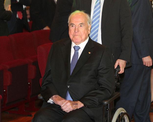 Helmut Kohl uważany jest za architekta jedności Niemiec i Europy /AFP