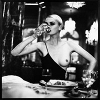 Helmut Newton, American Vogue, Monako, 1996 /Sztuka.pl