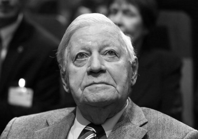 Helmut Schmidt /AFP