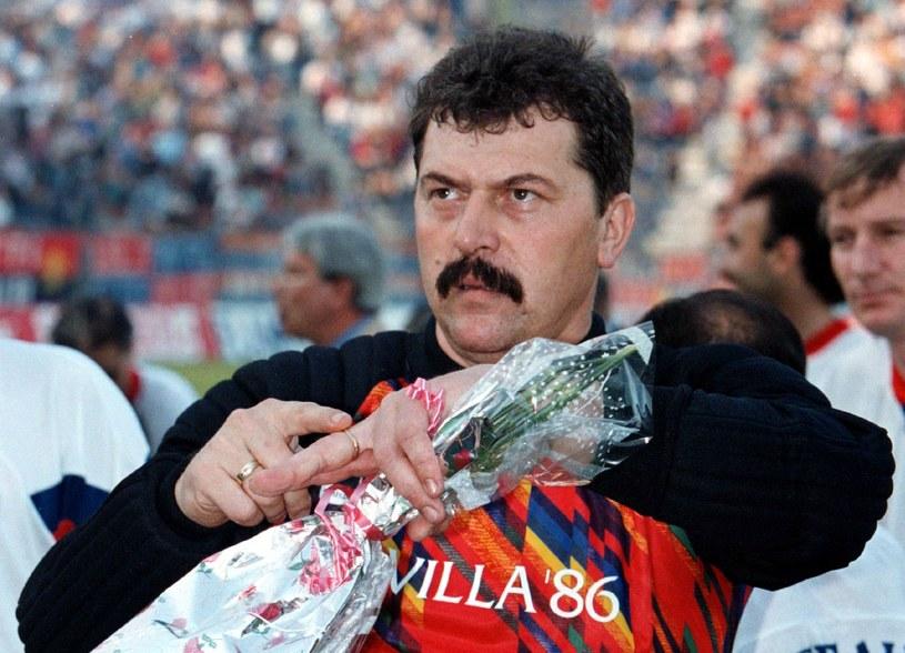 Helmuth Duckadam został bohaterem finału. Fot. Radu Sigheti / Reuters / Forum /Agencja FORUM