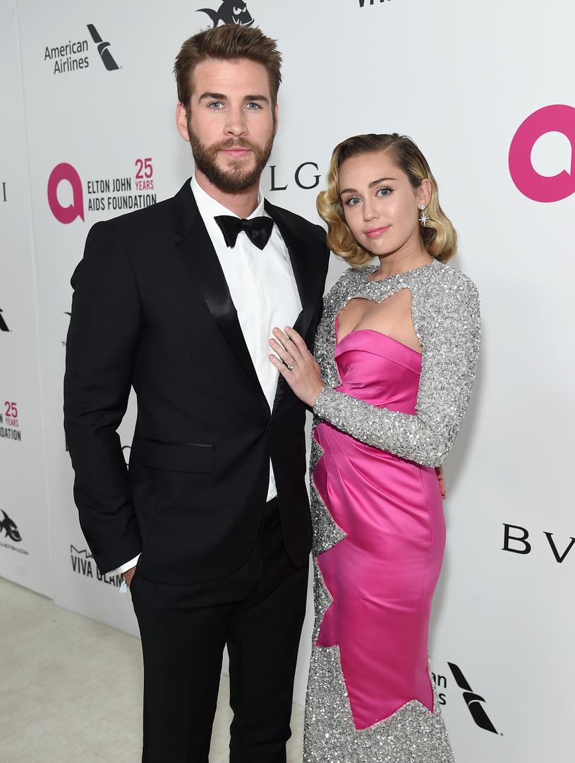 Hemsworth i Cyrus zaręczyli się w 2016 roku /Jamie McCarthy /Getty Images