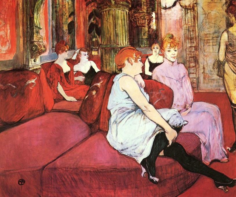 Henri de Toulouse-Lautrec, Paryskie prostytutki (źródło: domena publiczna) /Ciekawostki Historyczne
