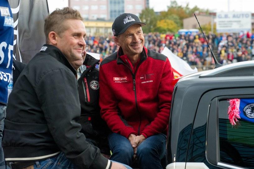 Henrik Gustafsson, Hans Nielsen /Fot. Marek Dembski /Newspix