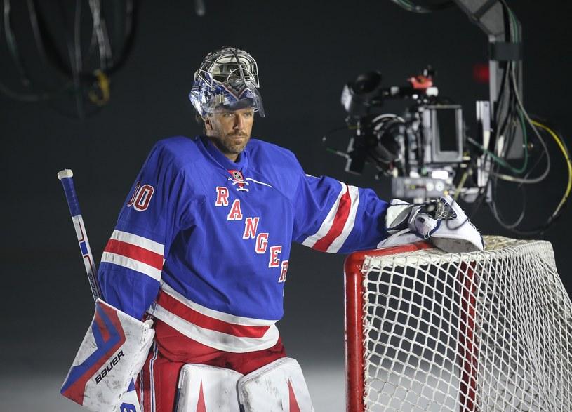 Henrik Lundqvist z New York Rangers i reprezentacji Szwecji /AFP