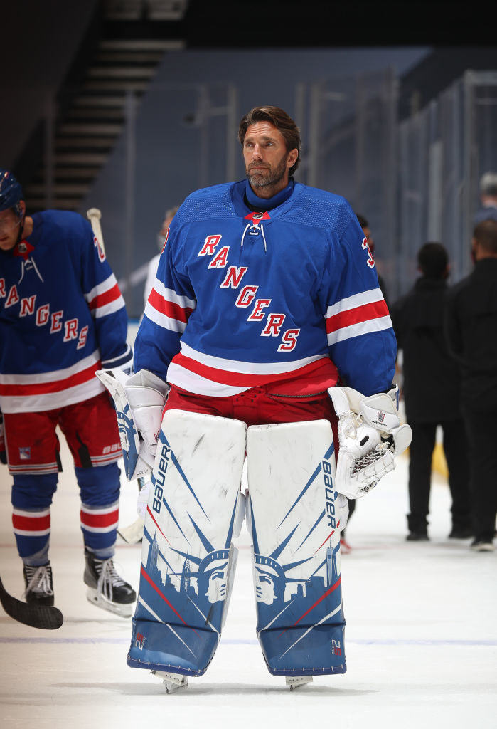 Henrik Lundqvist /Chase Agnello-Dean/NHLI via Getty Images /Getty Images