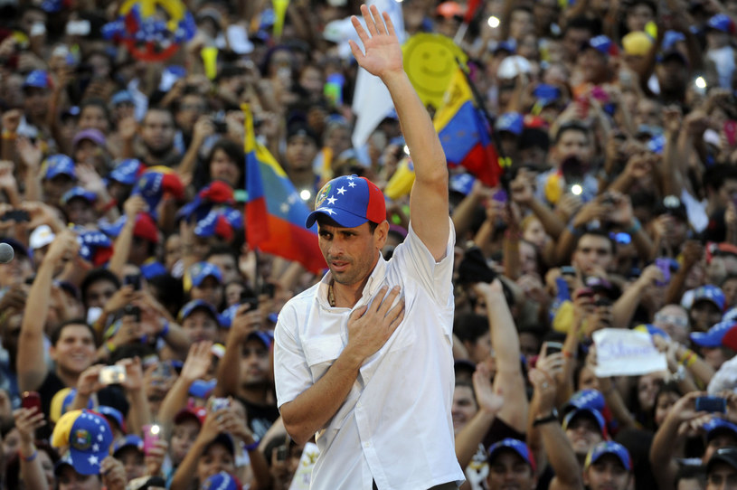 Henrique Capriles Radonski /AFP