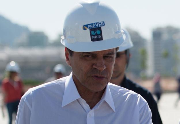 Henrique Eduardo Alves podał się do dymisji /AFP