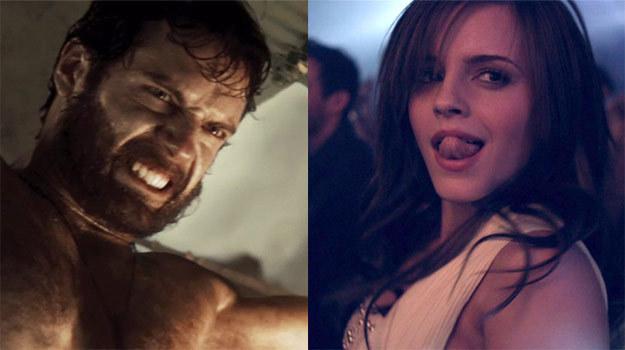 Henry Cavill vs Emma Watson. Kobiety lubią supermanów? /materiały dystrybutora