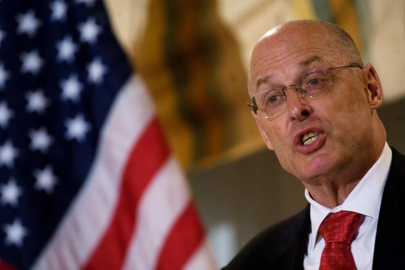 """Henry """"Hank"""" Paulson: Wszystko jest pod kontrolą /AFP"""