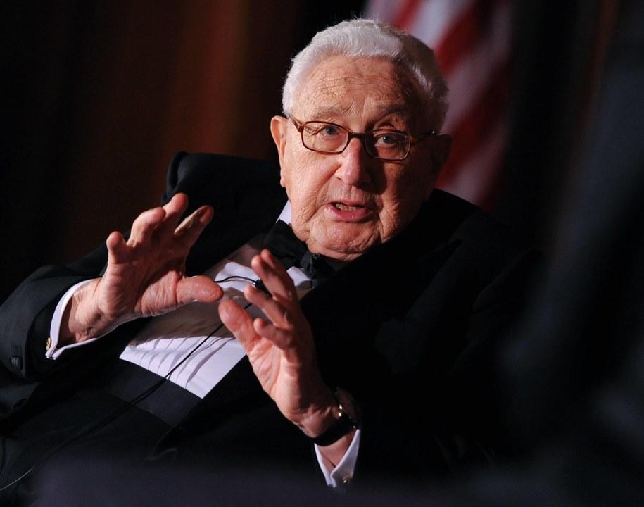Henry Kissinger / Britta Pedersen    /PAP/EPA