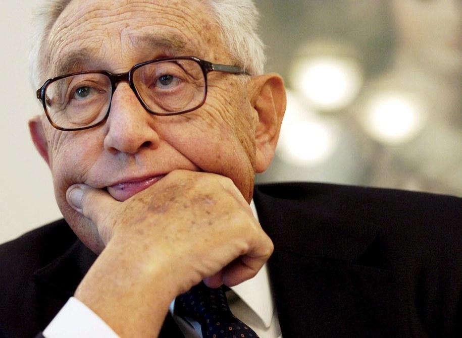 Henry Kissinger /PAP/EPA/STEFFEN SCHMIDT /PAP/EPA